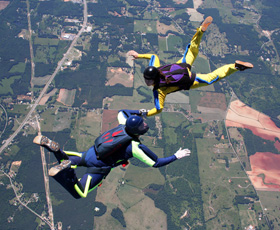 Freefall Skydiving Training in Atlanta