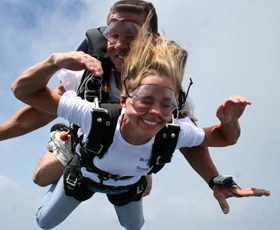 Atlanta Tandem Progression Skydiving Training