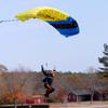 Landing Under Canopy - Atlanta Skydiving
